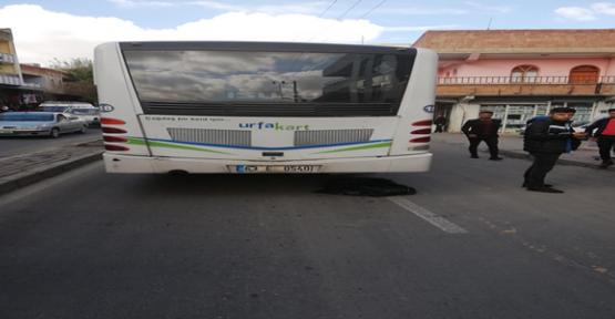 Urfa'da Otobüsün Çarptığı Çocuk Öldü
