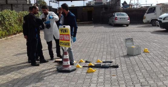 Urfa'da otomobile silahlı saldırı