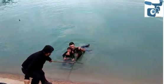 Urfa'da Kanala Düşen Çocuklar Kurtarıldı