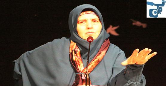 Emine Şenlikoğlu Urfa'da Konferans Verdi