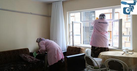 """Haliliye Belediyesi, """"Evde Bakım"""" Hizmeti İle Yaşlıların Yanında"""