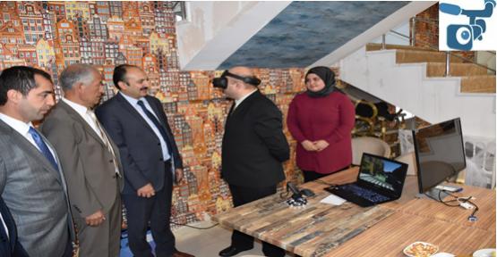HRÜ'den Şehircilikte Geotasarım ve Sanal Gerçeklik Çalıştayı