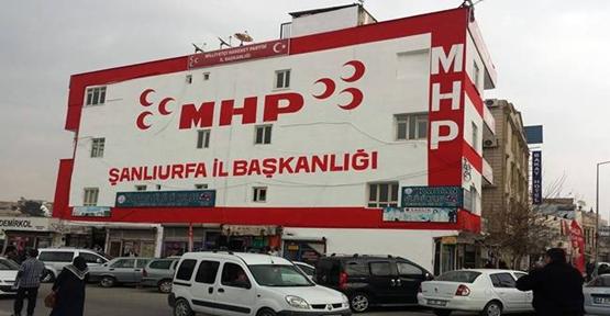 Milliyetçi Hareket Partisi Şanlıurfa'da 3 adayını belirledi.
