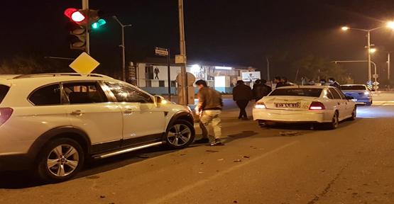 Urfa'da Zincirleme Trafik Kazası 1 Yaralı