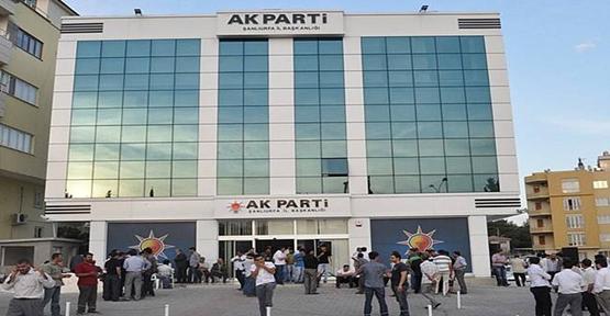 AK Parti Şanlıurfa İlçe Aday Tanıtım Toplantısı İptal Edildi