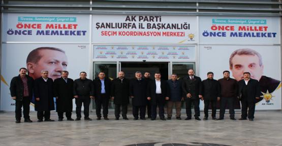 AK Parti Şanlıurfa SKM Hazırlıklarını Tamamladı