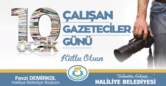 Başkan Demirkol'dan Gazeteciler Günü Mesajı