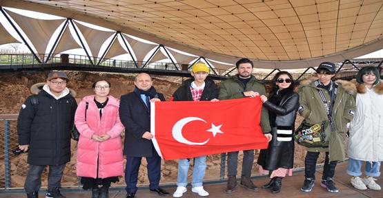Çin- Türkiye Gönül Eşçisi Göpeklitepe'de