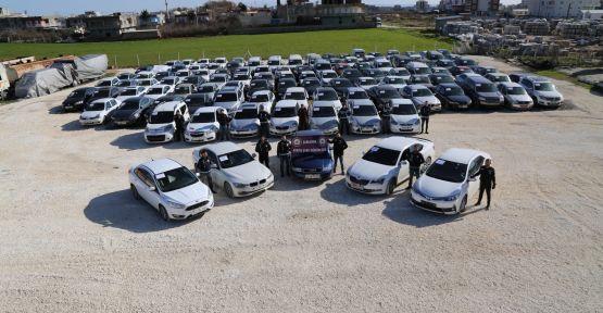 Türkiye'nin En Büyük Çalıntı Araç Operasyonu Şanlıurfa Emniyeti Yaptı