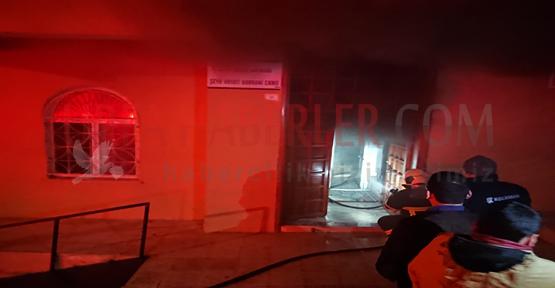 Urfa'da Camide Yangın