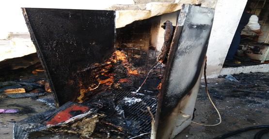 Urfa'da Evde Yangın Çıktı