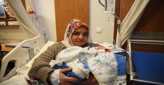Urfa'da Yılın İlk Bebeği Erkek Oldu