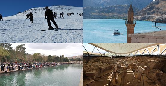 Yarıyıl Tatilde Urfa'da Turizm Yoğunluğu