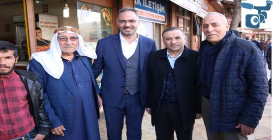 AK Aday Kuş Balıklıgöl-Haşimiye Esnafını Gezdi