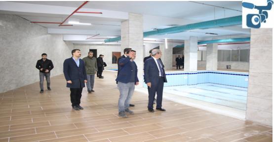 Başkan Demirkol, Gençlik Ve Kültür Merkezinde Açılışı Öncesinde İncelemelerde Bulundu