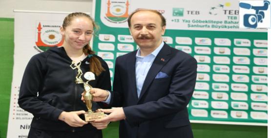 Tenis Turnuvası Göbeklitepe Bahar Kupası İle Sona Erdi