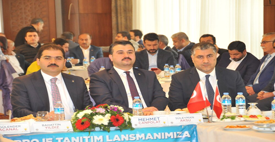 Ak Parti Adayı Canpolat Projelerini Açıkladı