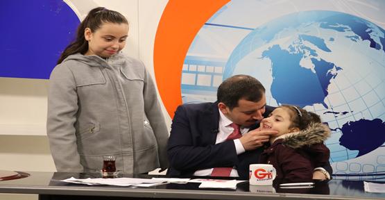 Başkan Baydilli'ye Çocuklarından Canlı Yayın Sürprizi