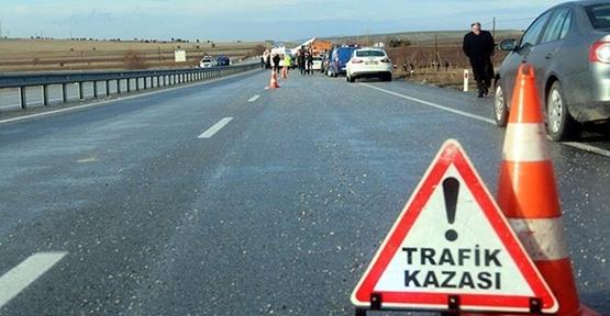 Şanlıurfa'da Trafik Kazası, 8  Yaralı