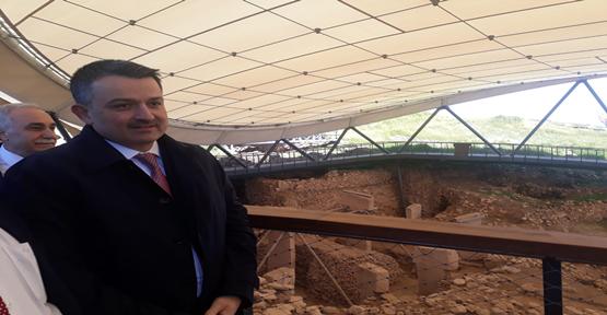 Tarım Bakanı Pakdemirli Göbeklitepe'de