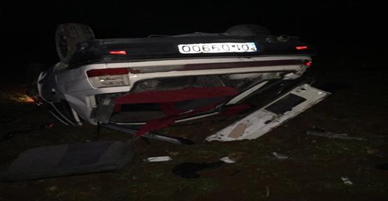 Urfa'da araç takla attı, 4 yaralı