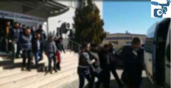 Urfa'da Aranan Kişilere Operasyon, 25 Gözaltı