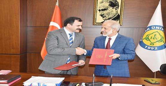 HRÜ İle  İl Milli Eğitim Müdürlüğü arasında protokol imzalandı
