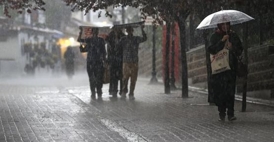 Şanlıurfa Valiliğinden Kuvvetli Yağış Uyarısı