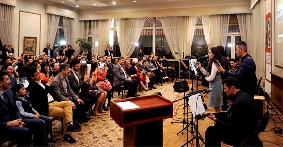 Âşık Veysel Pekin Büyükelçiliğinde Anıldı
