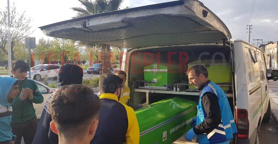 Urfa'da Metruk Binada Yanmış Ceset Bulundu