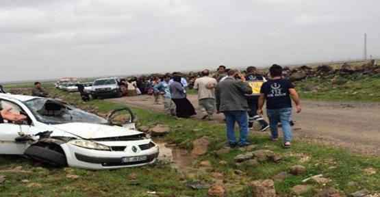 Viranşehir'de Trafik Kazası, 1 Ölü, 2 Yaralı