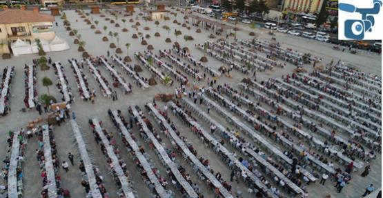 Binlerce Şanlıurfalı, Halil İbrahim Sofrasında Bir Araya Geldi