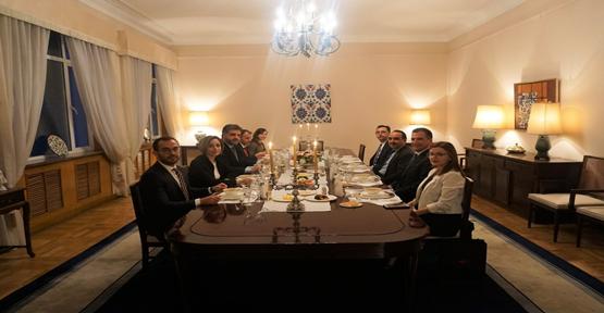 Büyükelçi Önen'den Dışişleri Ve Tarım Ve Orman Bakan Yardımcılarına İftar
