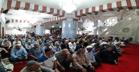 Dergah Camisinde Şehit Polis Kayadibi İçin Mevlid Okutuldu