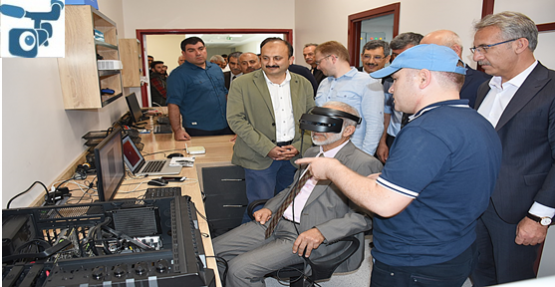 Harran Üniversitesi, Sanal Gerçeklik Laboratuvarı Açıldı
