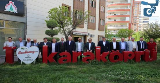 Karaköprü Belediyespor'da Aslan Yeniden Başkanlığa Seçildi