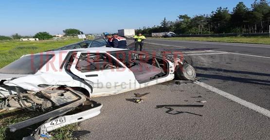 Şanlıurfa'da Trafik Kazası; 1 Ölü 2 Yaralı