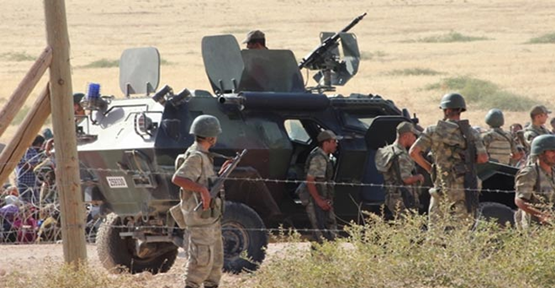 Suriye Sınırda Deaş Operasyonu