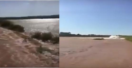 Urfa'da Tarlalar Sular Altına Kaldı