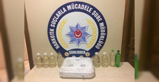 Urfa'da TIR'da Uyuşturucu Ele Geçirildi
