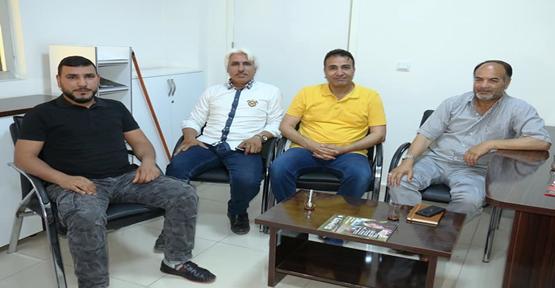 Arslan Ve Dikeç Akçakale Belediyesinde Basın Birimde Görev Aldı