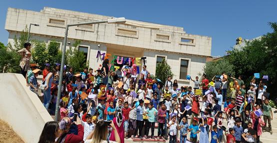Erdoğan Gönül Eğitim Parkında  Mezuniyet Heyecanı