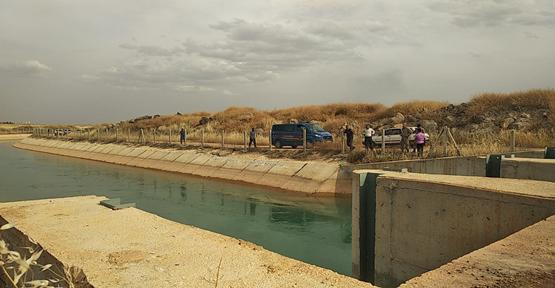 Urfa'da Sulama Kanalında Akıntıya Kapılan Genç Kayboldu