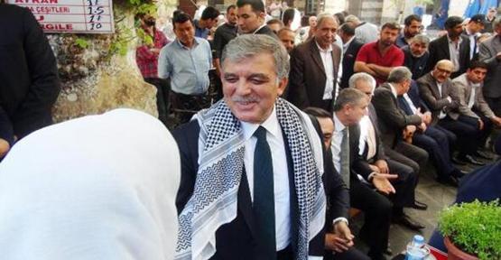 Abdullah Gül Şanlıurfa'ya Geliyor!