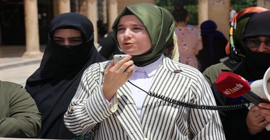 Güven, Kudüs Anneler Platformunda Konuştu