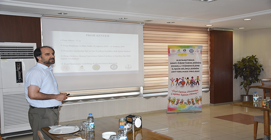 HRÜ'de Yapılan Özel Eğitime Yönelik Proje İle 2340 Öğretmene Eğitim Verildi