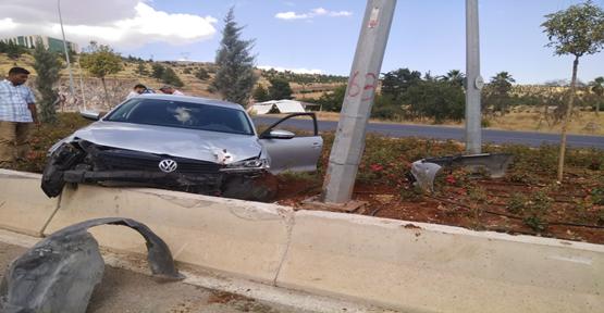 Karaköprü'de İki Kaza,3 Yaralı