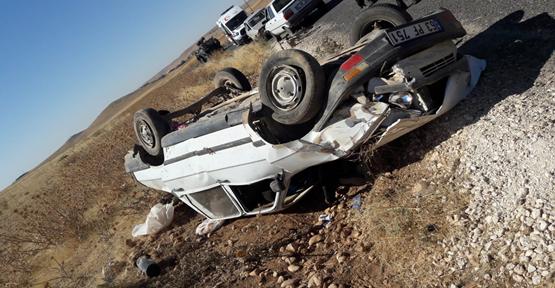 Urfa'da Feci Kaza, 1 Ölü, 3 Yaralı