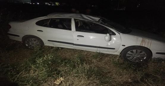 Urfa'da otomobil şarampole yuvarlandı 8 Yaralı