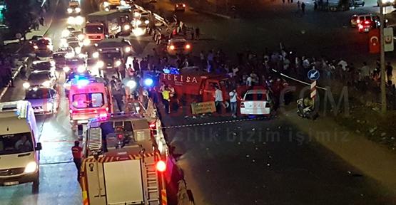 Urfa'da Zincirleme Kaza, 7 Yaralı